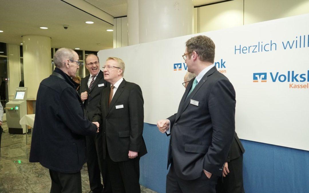 Neujahrsempfang – Volksbank Kassel Göttingen feiert ein Jahr Fusion